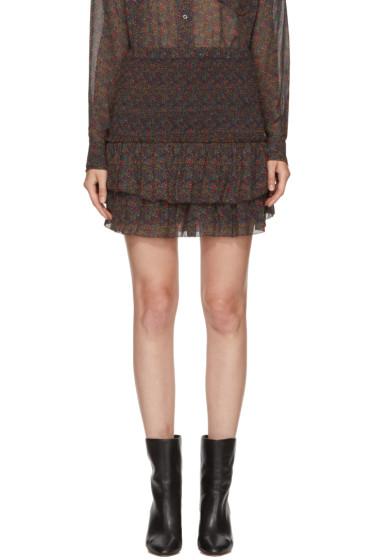 Isabel Marant Etoile - Green Julia Miniskirt
