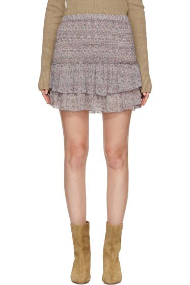 Isabel Marant Etoile - Purple Julia Miniskirt