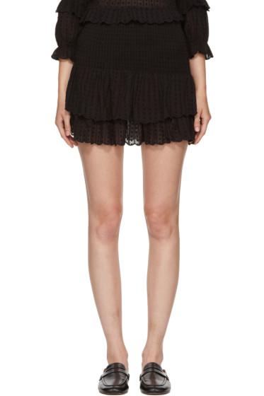 Isabel Marant Etoile - Black Yoni Miniskirt