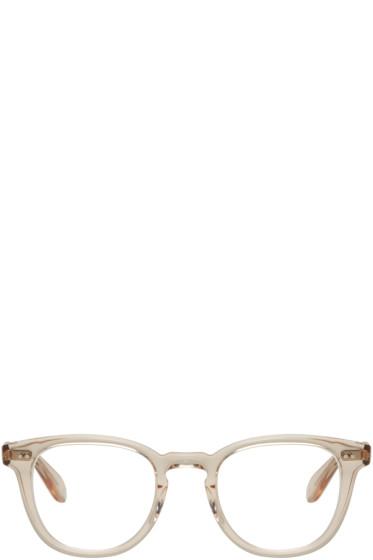 Garrett Leight - Beige McKinley Glasses
