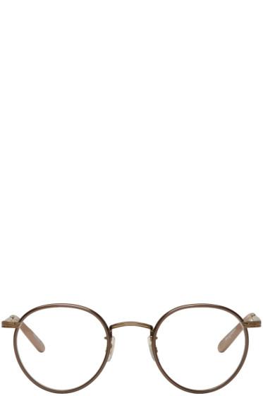 Garrett Leight - Brown Wilson Glasses