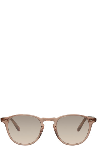 Garrett Leight - Pink Hampton Sunglasses