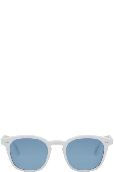 Garrett Leight - White Mark McNairy Edition #3 Sunglasses