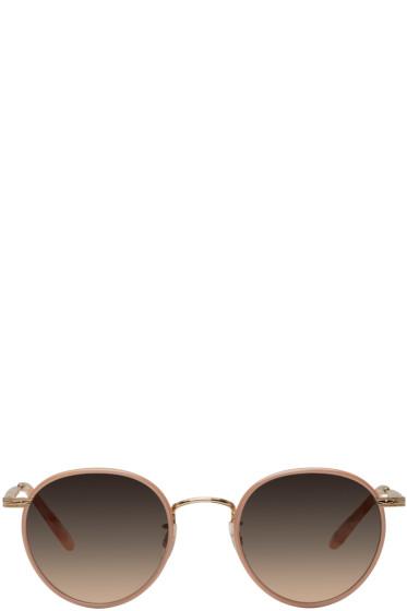 Garrett Leight - Pink Wilson Sunglasses
