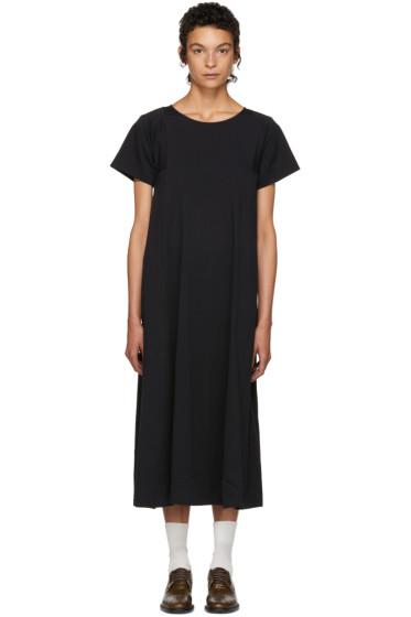 Lemaire - SSENSE Exclusive Black T-Shirt Dress