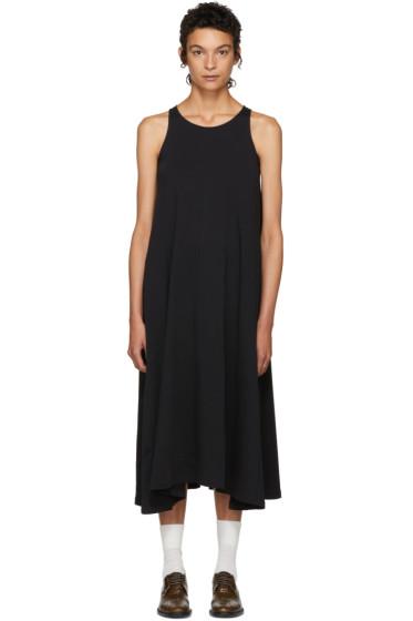Lemaire - SSENSE Exclusive Black Sleeveless Dress