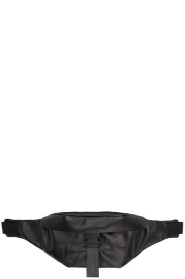 Etudes - Black Leather April Waist Bag