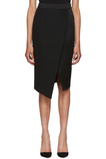 Pallas - Black Barbara Wrap Skirt