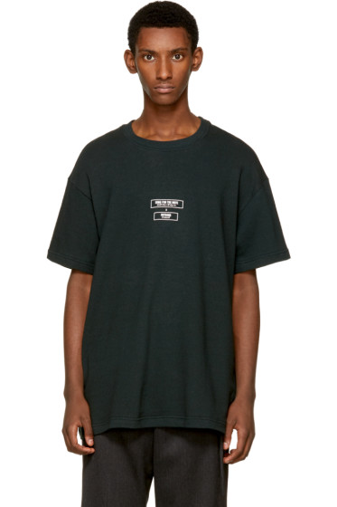 Song for the Mute - Green NOTHING Edition Logo T-Shirt
