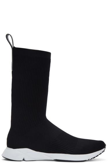 Reebok Classics - Black Sock Supreme ULTK High-Top Sneakers