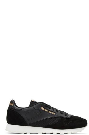 Reebok Classics - Black CL Attentive Lover Sneakers