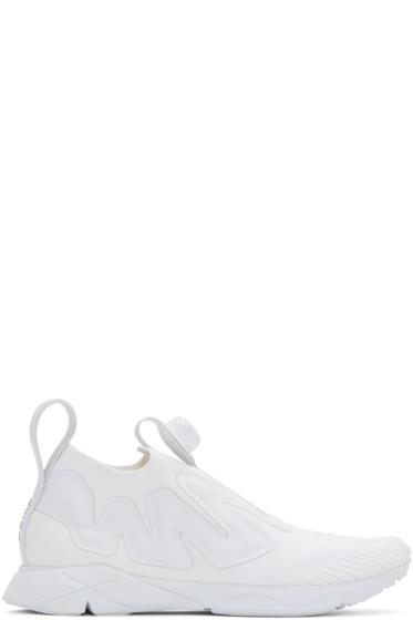 Reebok Classics - White PUMP Supreme ULTK Sneakers