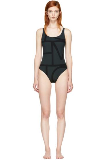 Totême - Black Positano Swimsuit