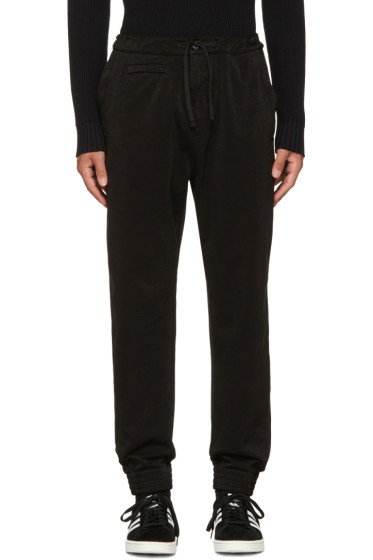 Stone Island Shadow Project - Black Tapered Trousers