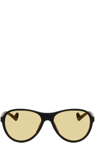 District Vision - Black & Yellow Kaishiro Sunglasses