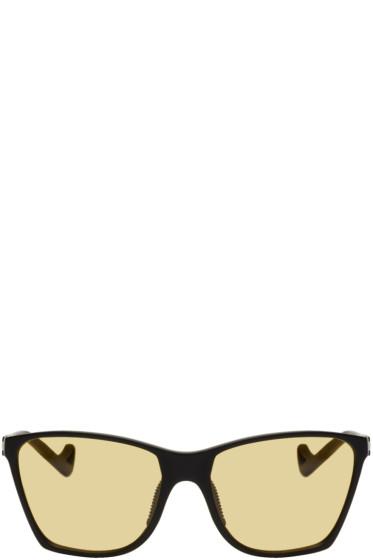 District Vision - Black & Yellow Keiichi Sunglasses