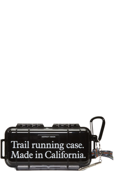 District Vision - Black KNOX Trail Running Case