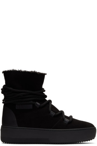 Black Allen High-Top Sneakers Giuseppe Zanotti