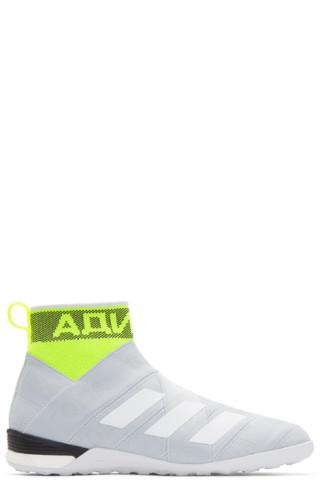 Grey adidas Original Edition Nemeziz Mid Sneakers Gosha Rubchinskiy