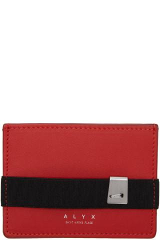 Red Ryan Card Holder Alyx