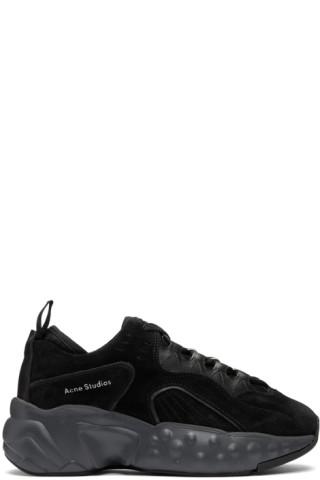 Black Rockaway Sneakers by Acne Studios