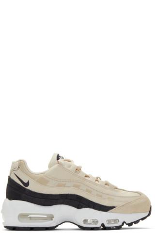 f6099514f8 Nike: Biege & Grey Air Max 95 Sneakers   SSENSE