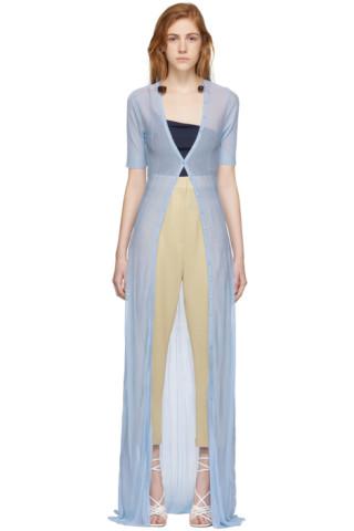 Jacquemus  Blue  La Robe Dolcedo  Dress  968d4b21b