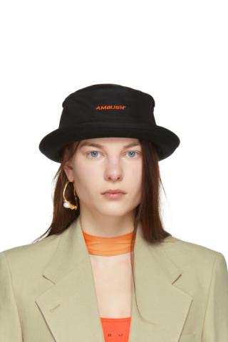365fb357 Ambush: Black Waves Bucket Hat | SSENSE