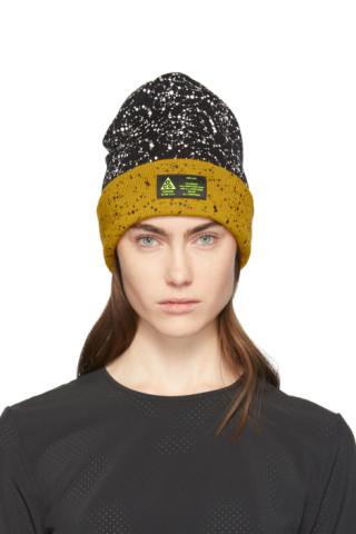 NikeLab , Bonnet noir et jaune ACG édition Errolson Hugh