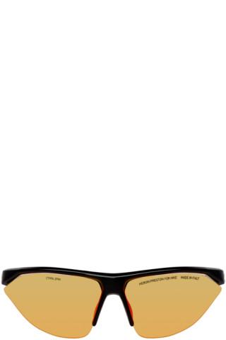 34f02db9406c Heron Preston: Black Nike Edition Tailwind Sunglasses | SSENSE