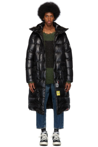 2133cb15b R13 - Black Brumal Edition Down Long Anorak Puffer Coat