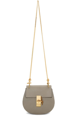 Grey Drew Shoulder Bag by ChloÉ