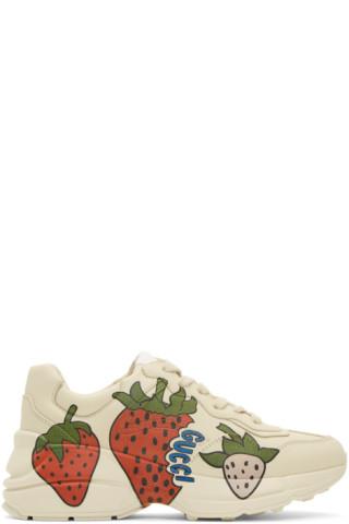 Off-White Strawberry Rhyton Sneakers