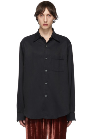 Our Legacy: Black Policy Shirt | SSENSE