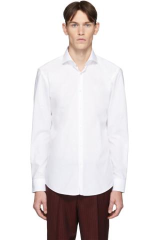 Hugo White Kason Shirt 201084M192101