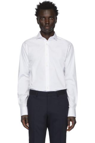 Tiger of Sweden White Farrell5 Shirt 201115M192030
