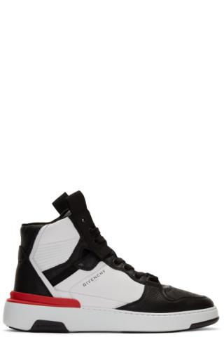 Givenchy: Black \u0026 White Wing High
