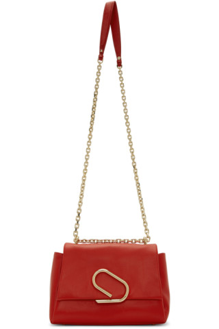 3.1 Phillip Lim: Red Alix Soft Chain Bag | SSENSE