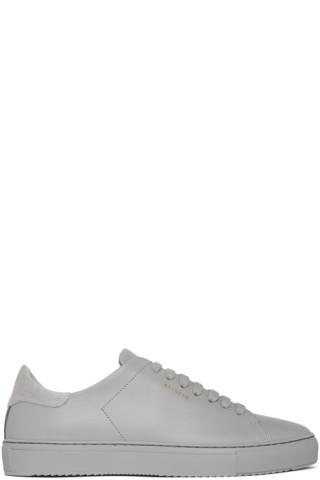 Axel Arigato Grey Clean 90 Sneakers 201307M237012
