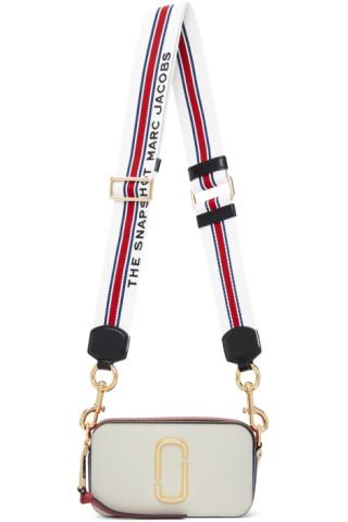 Marc Jacobs - Sac 'The Snapshot' blanc et rouge