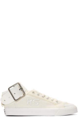 White adidas Originals Edition Spirit Buckle Sneakers