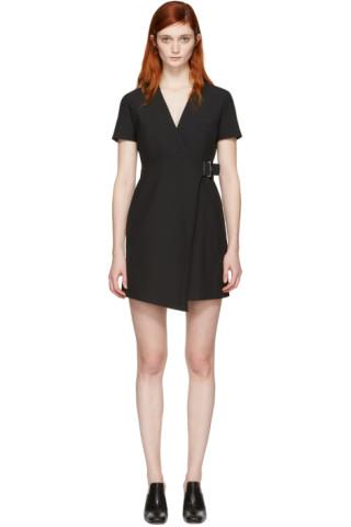 Black Buckle Dress