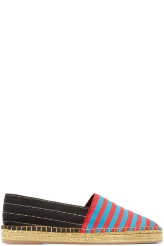 Multicolor Striped Sienna Espadrilles