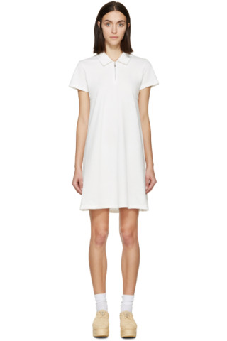 White Polo Torch Dress