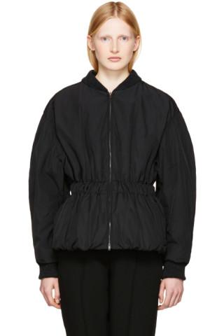 Black Dex Bomber Jacket