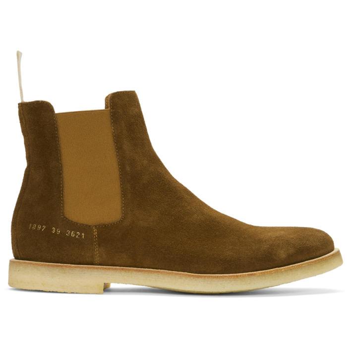Fendi Brown Suede Rekry Zip Boots