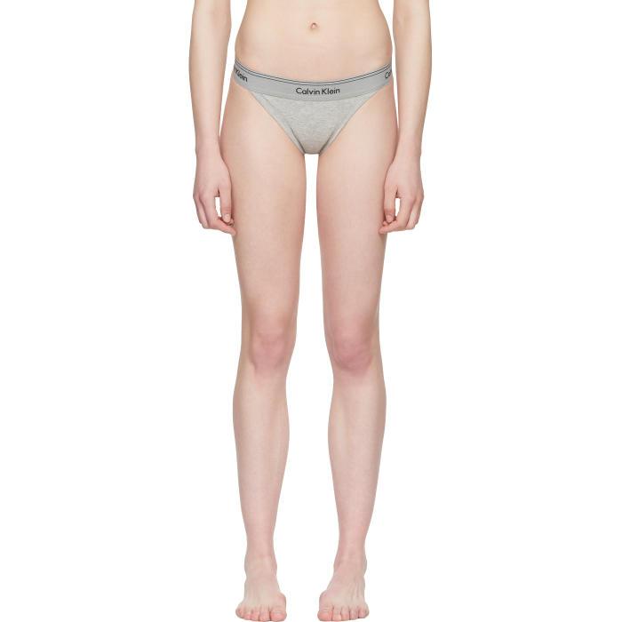 Grey Heritage Athletic Tanga Briefs Calvin Klein Underwear