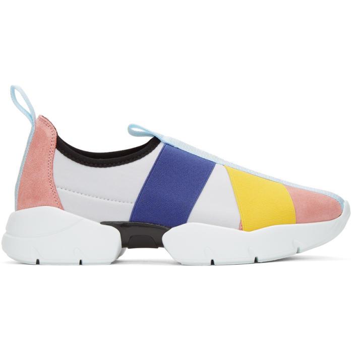 Emilio Pucci City Up Elastic Sneakers