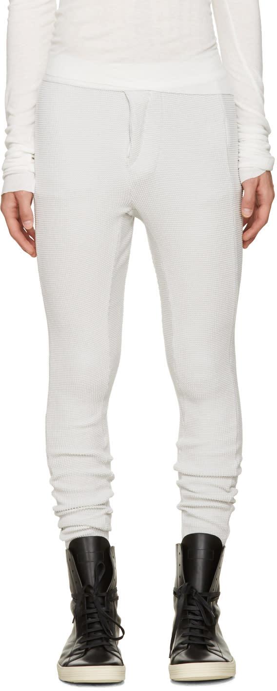 Nil s Off white Sarouel Lounge Pants