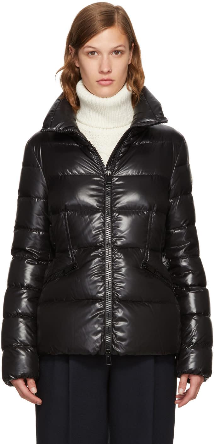 Moncler Black Down Danae Jacket